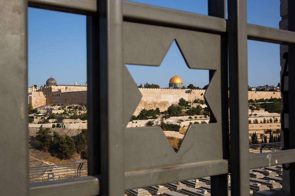 Kopuła na Skale - jedno z najświętszych miejsc dla muzułmanów w Jerozolimie