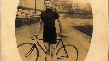 Nieznany rowerzysta