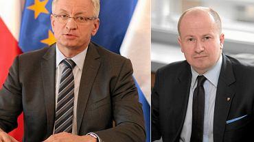 Jacek Jaśkowiak PO i Bartłomiej Wróblewski PiS