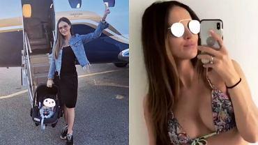 Marina Łuczenko-Szczęsna w bikini po porodzie
