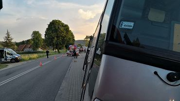 Wypadek w Siedliskach