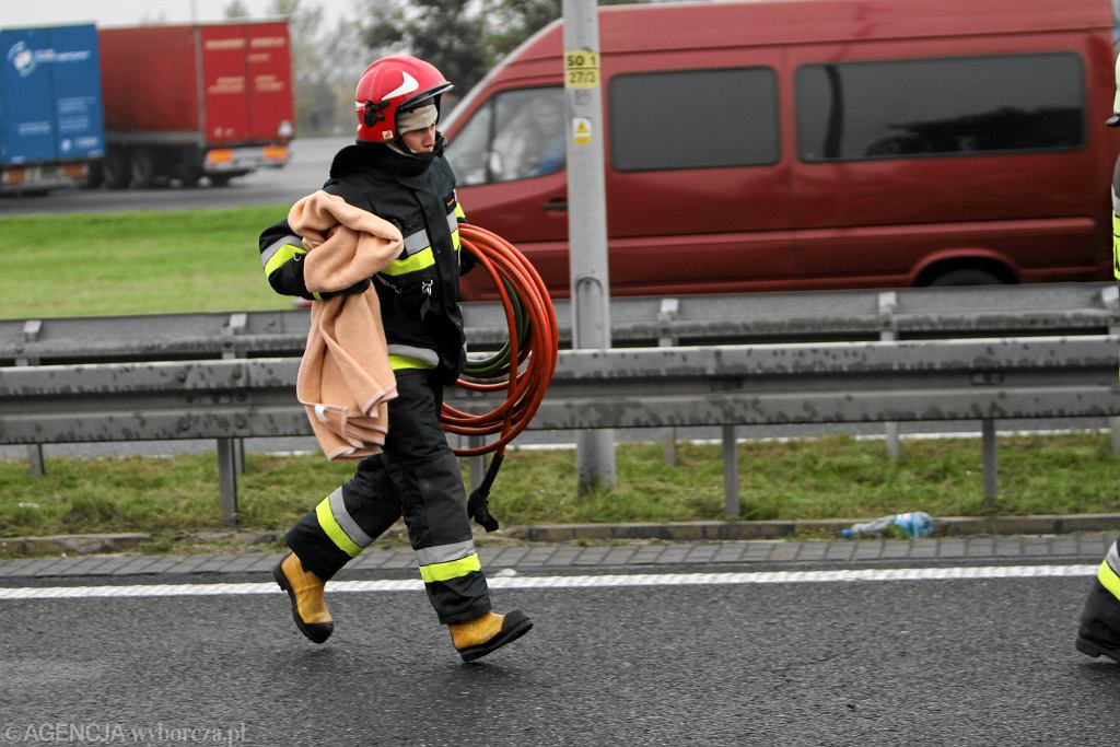 Gliwice: Wypadek na A4. Droga w obu kierunkach została zablokowana (zdj. ilustracyjne)