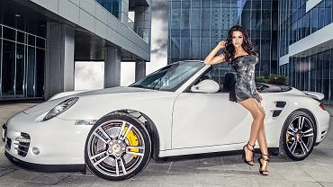 Alicja i Porsche 911 Turbo Cabrio