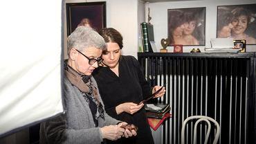 Na zdjęciu: pani Antonina Zbyszewska-Mildner z Natalią Bet