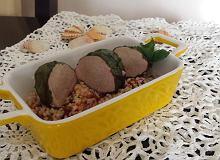 Polędwiczki w liściach botwinki gotowane na parze - ugotuj