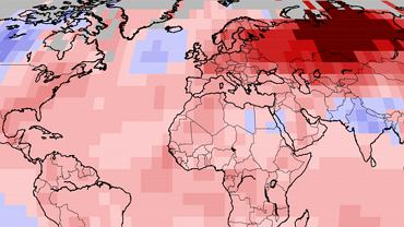 Temperatury na Syberii