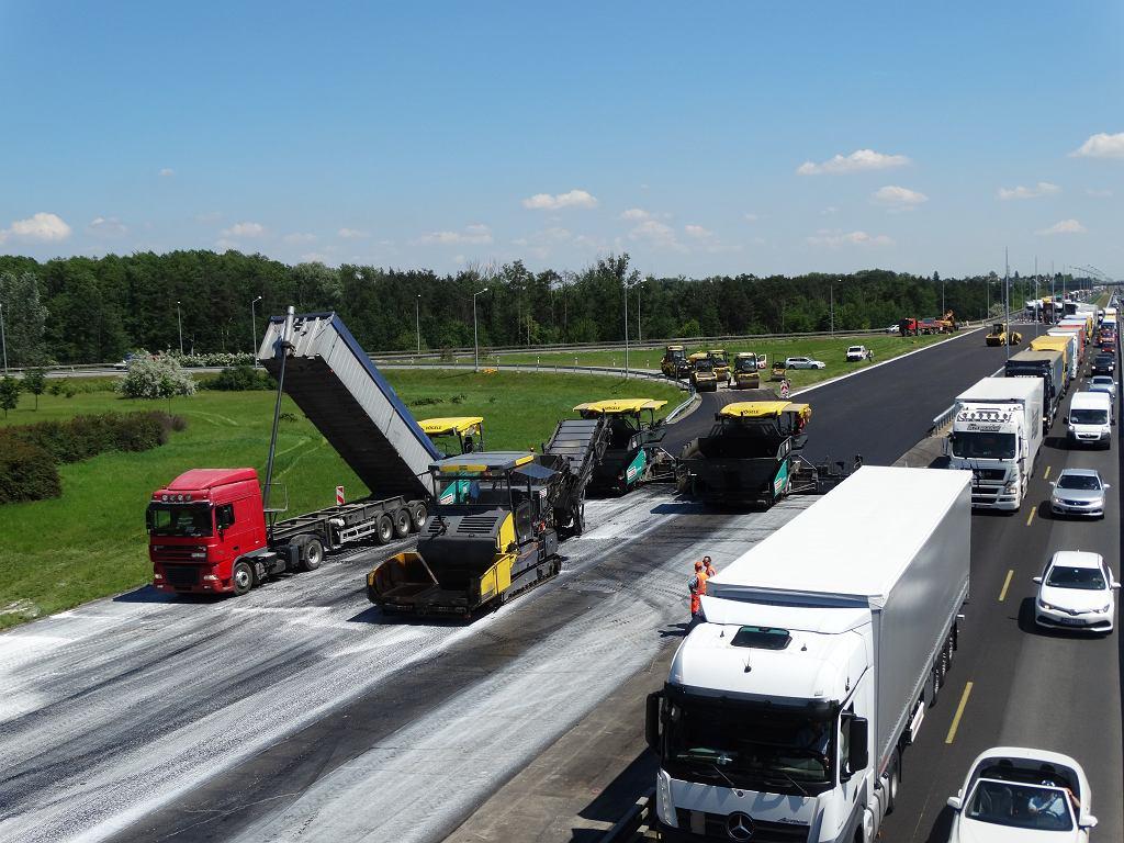 Rozbudowa autostradowej obwodnicy Poznania