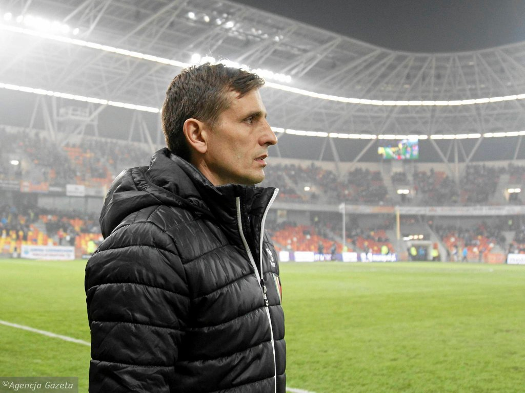 Marcin Brosz - trener Korony