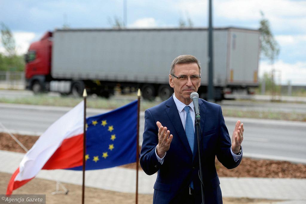 Piotr Grzymowicz, prezydent Olsztyna