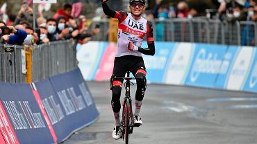 Joseph Lloyd Dombrowski wygrał czwarty etap Giro d'Italia. Zmiana lidera wyścigu [WIDEO]