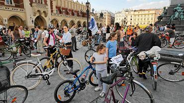 Szkolna Masa Krytyczna w Krakowie