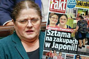 Krystyna Pawłowicz / screen okładki 'Faktu'