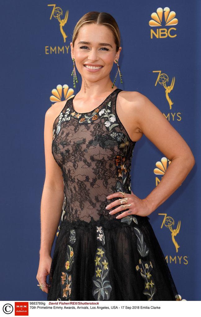 70. wręczenie nagród Emmy - Emilia Clarke