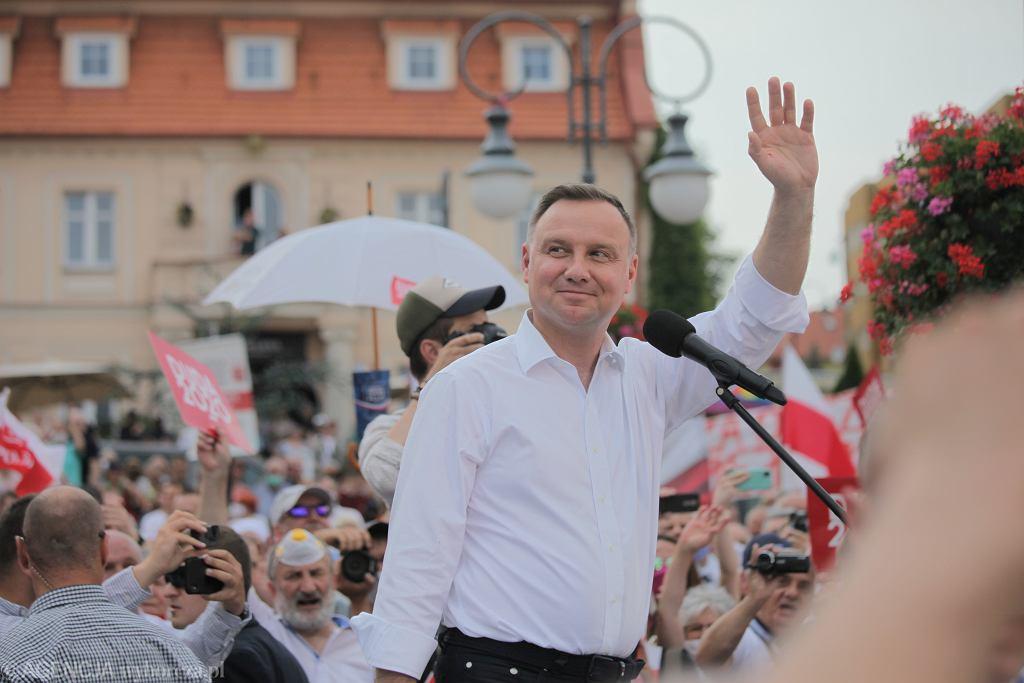 Andrzej Duda podczas kampanii wyborczej