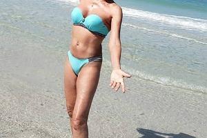 Helena Vondrackova w bikini