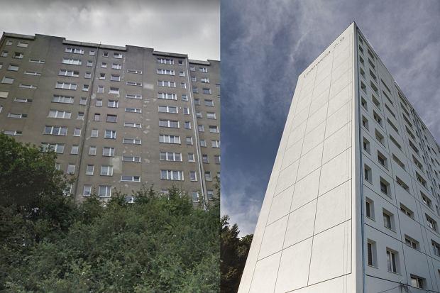 Blok przed i po modernizacją