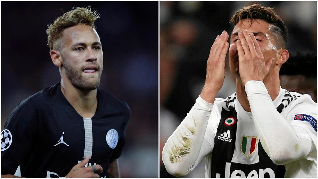 Neymar i Cristiano Ronaldo