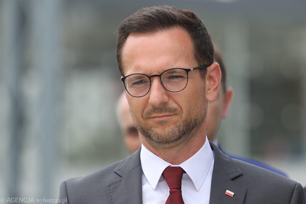 Wiceminister Waldemar Buda