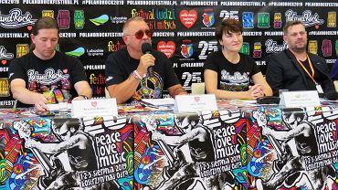 Festiwal Pol'and'Rock już za dwa tygodnie. Jerzy Owsiak na konferencji prasowej w Zielonej Górze udzielił najważniejszych informacji związanych z imprezą