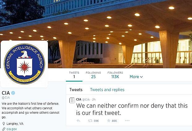 Konto CIA na Twitterze