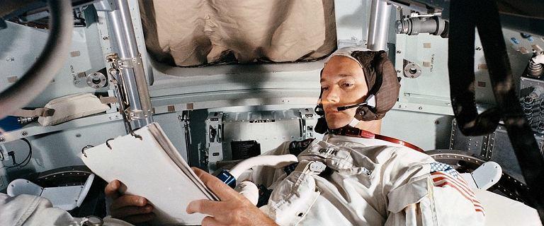 Ten trzeci z Apollo 11. Tylko otarł się o nieśmiertelność, ale nie żałował