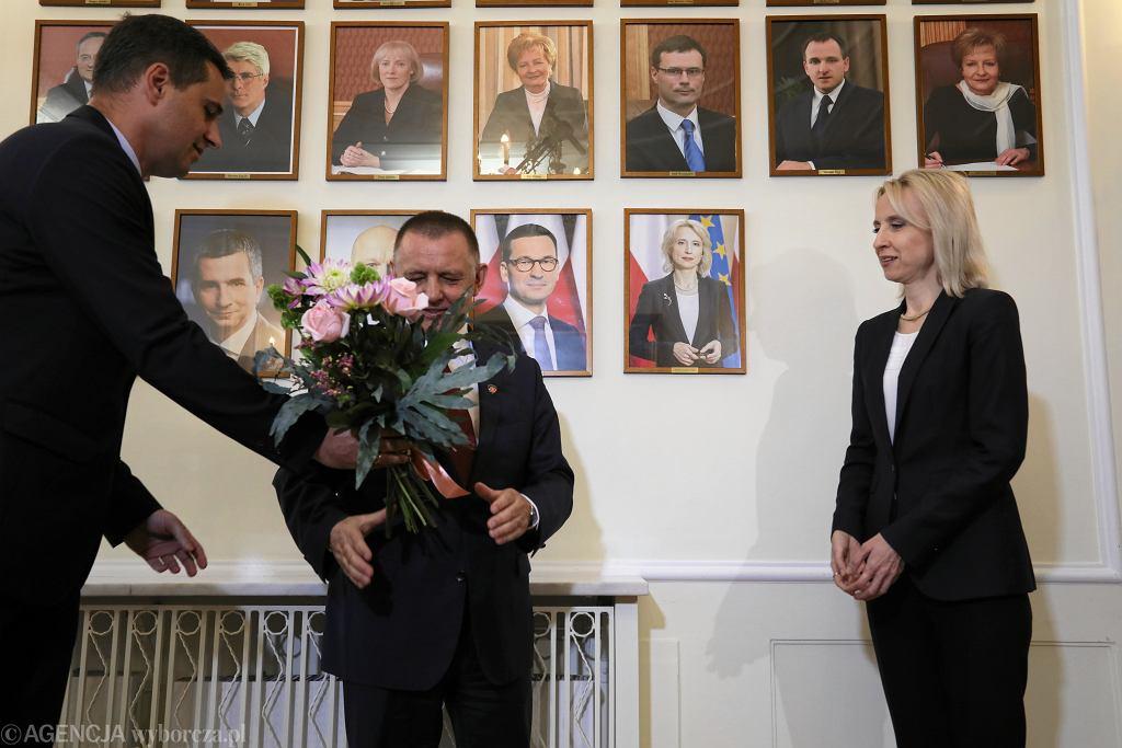 5Zmiana ministrow w Ministerstwie Finansow w Warszawie