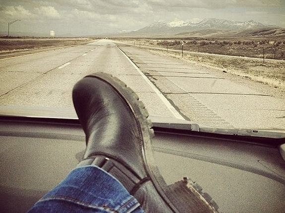 hit the road...
