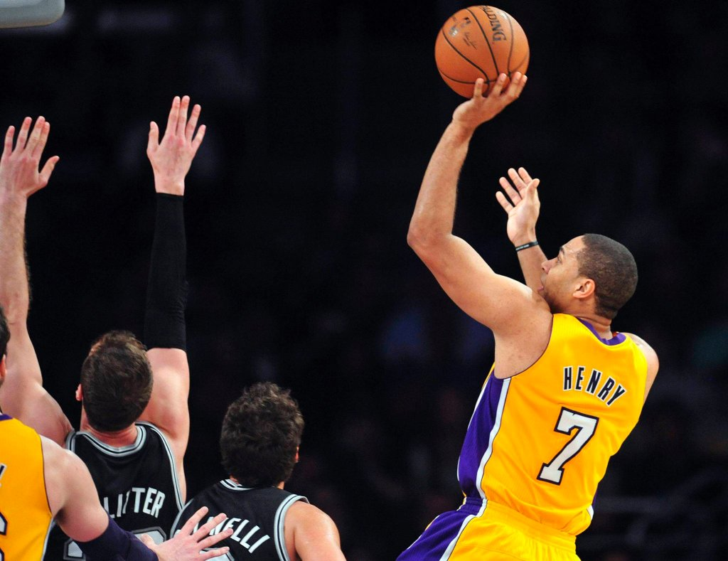 Xavier Henry z Los Angeles Lakers