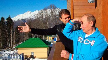 Władimir Putin w Soczi