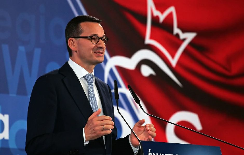 Konwencja wyborcza Prawo i Sprawiedliwości z udziałem Mateusza Morawieckiego