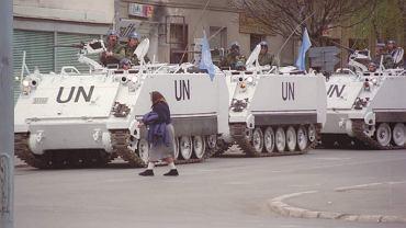 Bałkany, lata 90. Kontyngent pokojowy ONZ, w który służył Robert Pałka