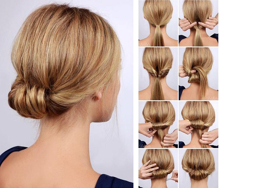 Łatwa fryzura na co dzień