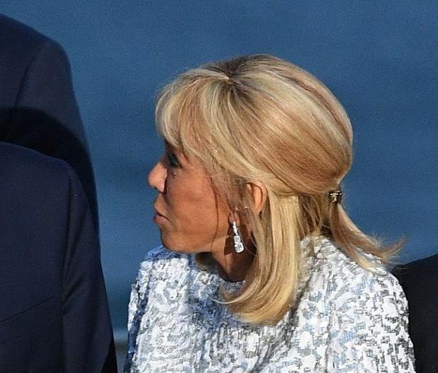 Brigitte Macron widzi Melanię Trump i Justina Trudeau