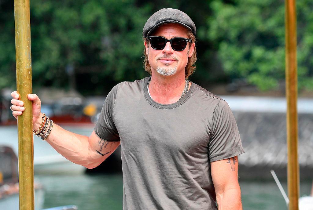 Brad Pitt na Festiwalu Filmowym w Wenecji 2019
