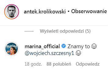 Marina Łuczenko komentuje post Antka Królikowskiego