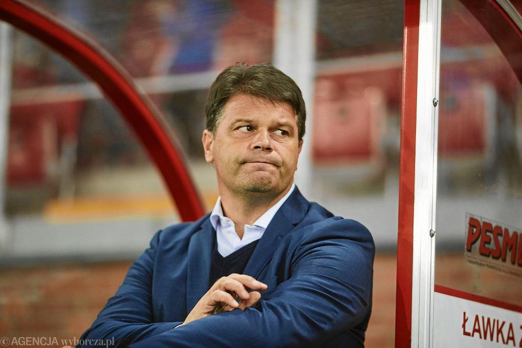 Radosław Mroczkowski, trener Widzewa