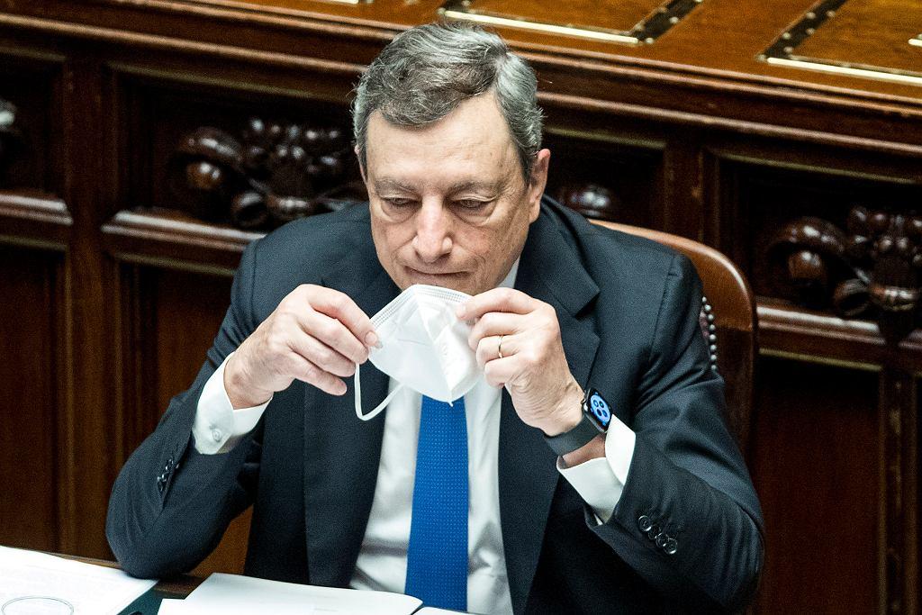 Premier Włoch Mario Draghi