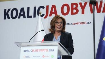 Małgorzata Kidawa-Błońska kandydatką KO na premiera
