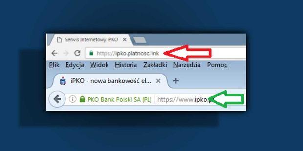 Jak odróżnić fałszywą stronę banku od prawdziwej