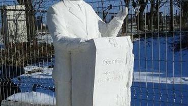 Koncepcja pomnika Przemysława Gosiewskiego w Kielcach