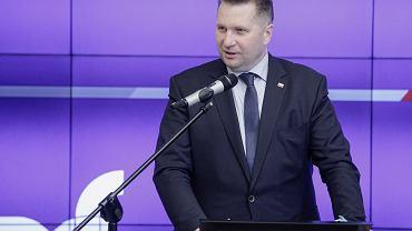 Minister Edukacji i Nauki Przemysław Czarnek