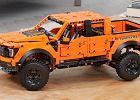 Zabawka wagi ciężkiej - Ford F150 Raptor z klocków Lego