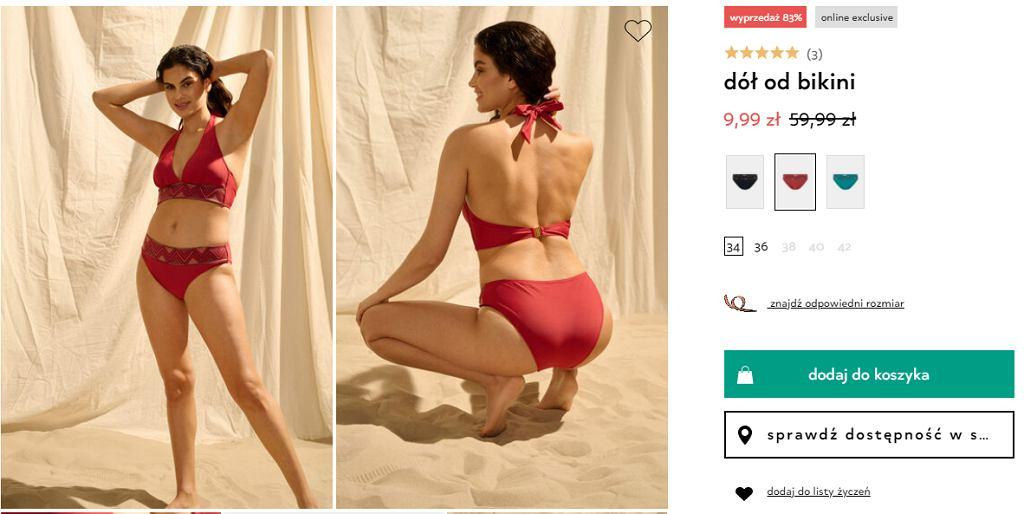 orsay dół od bikini