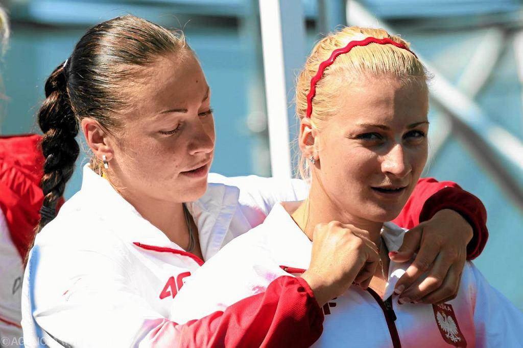 Beata Mikołajczyk i Karolina Naja na igrzyskach w Londynie