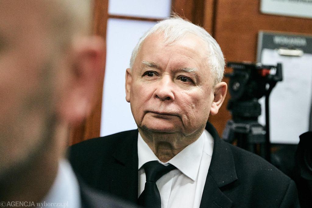 Lech Wałęsa podczas rozprawy w gdańskim sądzie. Jarosław Kaczyński domaga się przeprosin od byłego prezydenta