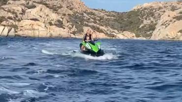 Lucas Hernandez na wakacjach w Sardynii