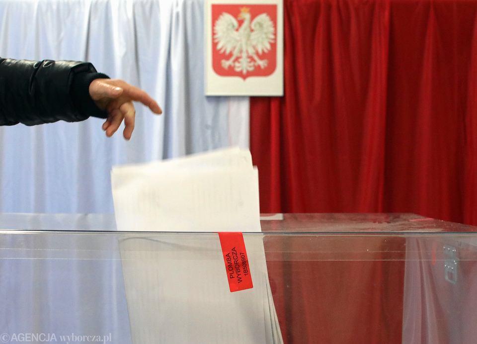 Wybory parlamentarne 2019. Zdjęcie ilustracyjne