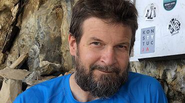 Dziennikarz Newsweeka Wojciech Cieśla.