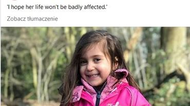 Sophie choruje na rzadką chorobę