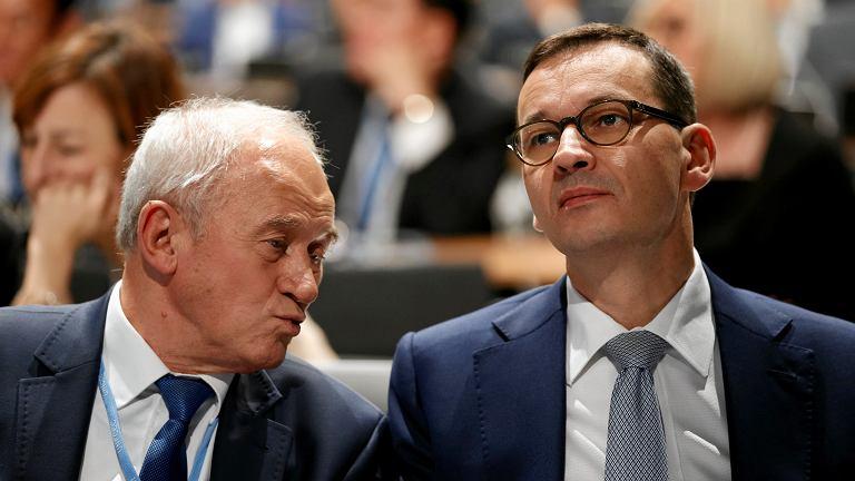 Minister energii Krzysztof Tchórzewski i premier Mateusz Morawiecki. Szczyt klimatyczny COP 24
